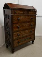 Large Victorian Mahogany Shop Display Music Cabinet (4 of 18)