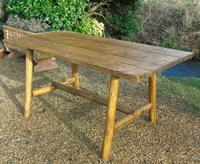 Antique Farmhouse Rustic / Industrial Table (5 of 9)