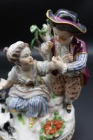 Fine Late 19th Century Meissen Model of Two Young Children & Dog (5 of 6)