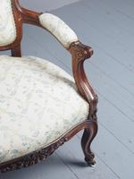 Antique Pair of French Rosewood Armchairs (19 of 19)