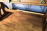 Victorian Gothic Oak Desk (8 of 8)