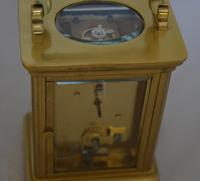 Brass Cased Carriage Clock c.1895 (2 of 5)