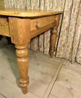 Antique Pine Farmhouse Table c.1860 (4 of 9)