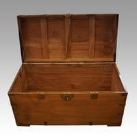 Large Victorian Camphor Wood Trunk (4 of 9)