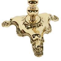 Edwardian Polished Brass Standard Lamp (7 of 7)