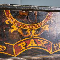 'Free Gardens Society' Painted Chest (4 of 10)