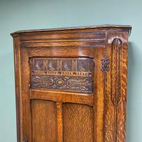 Quality Oak Antique Hall Cupboard / Wardrobe (6 of 7)