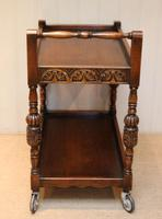 Carved Oak Trolley (8 of 10)