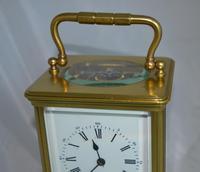 Striking Victorian Brass Carriage Clock (6 of 6)