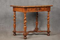 Rare 17th Century Olive Wood Oyster Side Table (7 of 14)