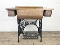 Antique Singer Sewing Machine Side Table (11 of 12)