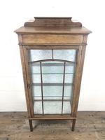 Edwardian Inlaid Mahogany Display Cabinet (9 of 10)