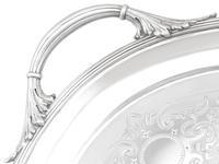 Sterling Silver Tea Tray by Walter & John Barnard - Antique Victorian 1888 (6 of 12)