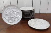 Set of Twelve Vintage Oyster Plates (6 of 6)