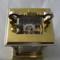 Bi Metal Strike / Repeat / Alarm Carriage Clock (3 of 6)