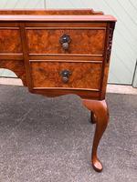 Antique Burr Walnut Writing Desk (3 of 9)