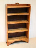Golden Oak Open Bookcase