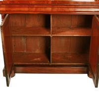 Fine Victorian Mahogany Cabinet Bookcase (6 of 8)