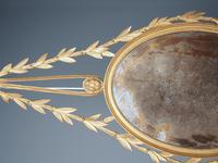 Antique Adam Style Giltwood Wall Mirror (4 of 12)