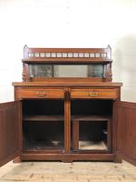 Antique Mahogany Sideboard with Mirror Back (7 of 13)