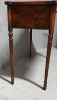 Burr Walnut Side Table (5 of 10)