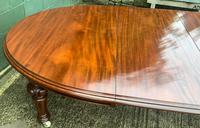 Super Quality Victorian Mahogany Extending Dining Table Seats 14 (5 of 18)