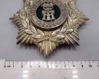 Other Ranks Helmet Plate - 1902-1914 - Alexandra Princess of Wales Own 'Yorkshire Regiment' (5 of 5)