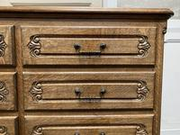Stylish French Oak Chest of Drawers (10 of 18)