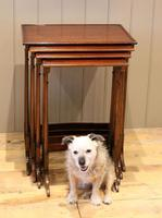 Mahogany Nest of Four Tables (3 of 11)