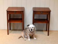Pair of Edwardian Style Mahogany Tables (5 of 10)