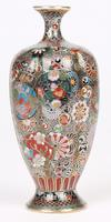 Oriental, Chinese / Japanese Exceptional Silver Metal Cloisonne Vase (9 of 25)