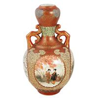 Pair of 19th Century Kutani Porcelain Vases (5 of 8)