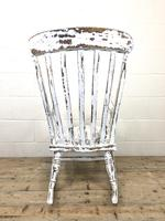 Antique Distressed Painted Rocking Chair (9 of 9)