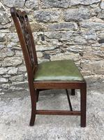 Set of 6 Georgian Mahogany Dining Chairs (8 of 21)