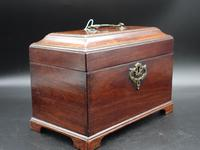 Attractive Chippendale Period Tea Caddy (2 of 6)