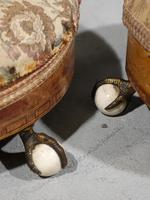 Attractive Pair of Mid Victorian Circular Stools (3 of 4)