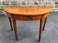 George III Mahogany Console Table (8 of 8)