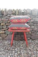 Early 20th Century, Antique Swedish Woven Textile, Geometric Patterned 're-stuffed cushions' (12 of 20)