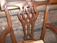 7 Piece Carved Mahogany Ball & Law Dining Set (9 of 9)