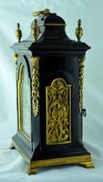 Rare Miniature Fusee Verge Bracket Mantle Clock - Made by John Johnson, London (3 of 12)
