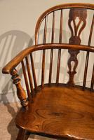 Ash & Elm Windsor Armchair with Low Back (6 of 6)