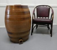 19th Century 20 Gallon Stoneware Whiskey Barrel (2 of 6)