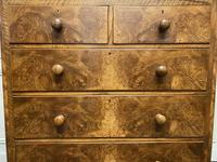 Fine Victorian Burr Walnut Chest of Drawers (6 of 15)