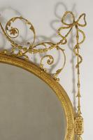 19th Century Gilt Adam Style Overmantle Mirror (7 of 13)
