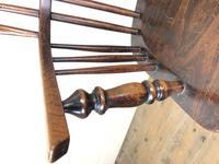 Antique Ash & Elm Windsor Armchair (4 of 11)