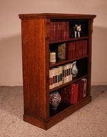 Open Bookcase in Light Oak 19th Century - England (9 of 11)