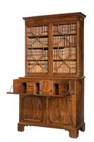 George III Period Mahogany Secretaire Bookcase, Gillows of Lancaster Attributed (7 of 9)