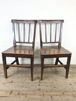 Pair of 19th Century Welsh Oak Farmhouse Chairs (2 of 12)