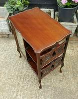 Lovely Victorian Mahogany Shop Display Cabinet (2 of 7)