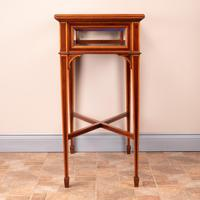 Fine Quality Edwardian Inlaid Mahogany Bijouterie Display Table (14 of 18)